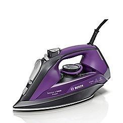 Bosch - Grey and Purple 'Sensixx' Steam Iron TDA5071GB