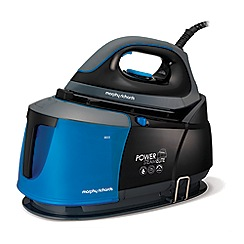 Morphy Richards - Black and Blue 'Power Steam Elite' Auto-Clean Steam Generator 332002