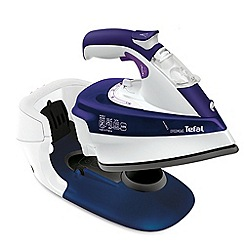 Tefal - Purple freemove cordless steam iron FV9966