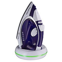 Russell Hobbs - Purple 'Freedom' cordless steam iron 23300