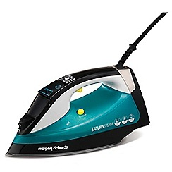 Morphy Richards - Green 'Saturn' steam iron 305000