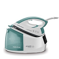 Morphy Richards - White and green 'Power' steam generator iron 333300