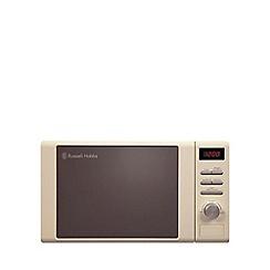 Russell Hobbs - Cream 'Legacy' microwave RHM2064C