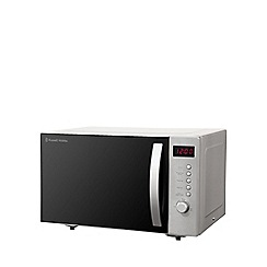 Rus Hobbs Stainless Steel 23l Solo Microwave Oven Rhm2364ss