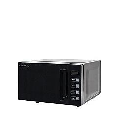 Russell Hobbs - Black 'Easi' flatbed microwave RHEM2301B