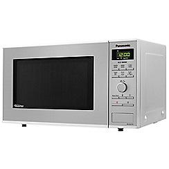 Panasonic - Silver inverter microwave oven NN-SD27HSBPQ