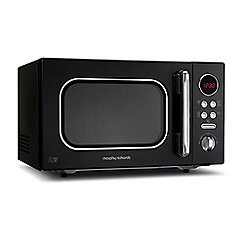 Morphy Richards - 23L Black Accents microwave oven 511510