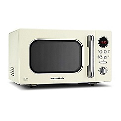 Morphy Richards - 23L Cream Accents microwave oven 511511