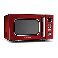 Morphy Richards - Red 'Accents' microwave 511512