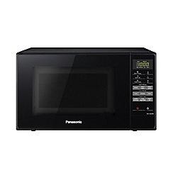 Panasonic - Black 'Solo' microwave oven NN-E28JBM