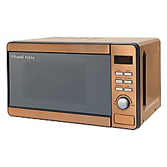 Russell Hobbs - Copper 17L digital microwave RHMD804CP