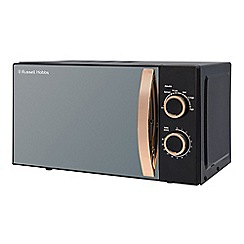 Russell Hobbs - Rose gold 17L manual microwave RHM1727RG