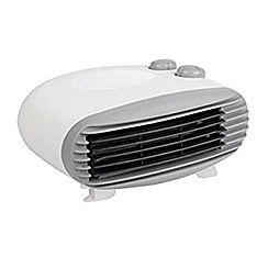 Prem-i-air - White 'EH1164' low profile fan heater