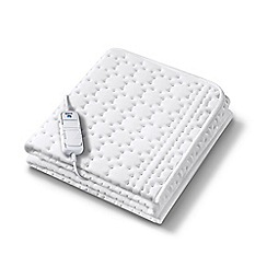 Beurer - Monogram by Beurer allergy-friendly heated mattress cover - king size dual control 36962
