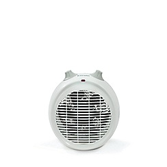 Dimplex - White 2kW upright fan heater DXUF20TN