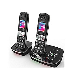 BT - BT 8500 twin DECT telephone with nuisance call blocker