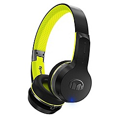 Monster - Black 'iSport Freedom' over ear wireless bluetooth headphones 137097-00