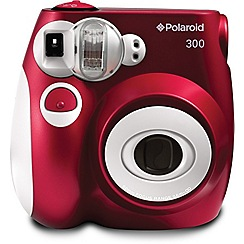 Polaroid - Red pic-300 instant print camera
