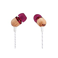 Marley - Purple 'Smile Jamaica' in ear headphones EM-JE041-PU
