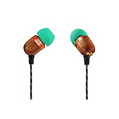 Marley - Rasta 'Smile Jamaica' in ear headphones EM-JE041-RA
