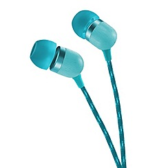 Marley - Teal 'Smile Jamaica' in ear headphones EM-JE041-TE