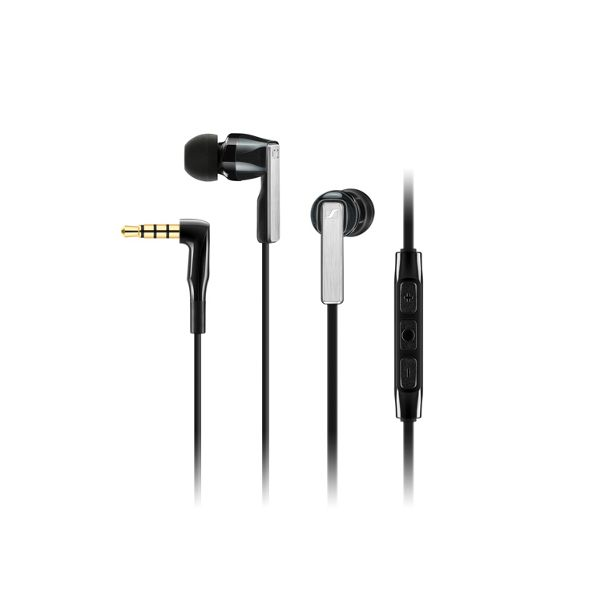 Sennheiser - Black 'CX 5.00' in ear headphones SNCX5GBK