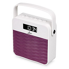 Lava - Purple FM radio & speaker