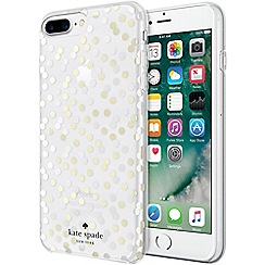 Kate Spade - New york confetti dot silver protective hardshell case for iPhone 7 KS-GFTSET-019