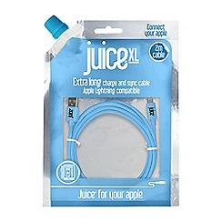 Juice - Blue XL lightning cable JUICEXLCABLE