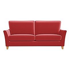 Debenhams - 3 seater Amalfi velvet 'Abbeville' sofa