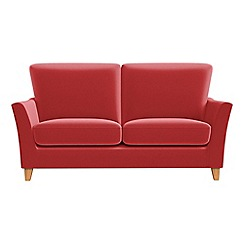 Debenhams - Small 2 seater Amalfi velvet 'Abbeville' sofa