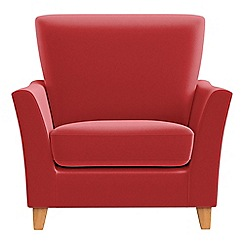 Debenhams - Amalfi velvet 'Abbeville' armchair
