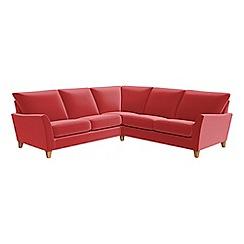 Debenhams - Amalfi velvet 'Abbeville' corner sofa