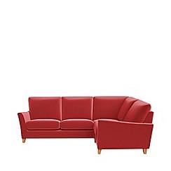 Debenhams - Amalfi velvet 'Abbeville' right-hand facing corner sofa end