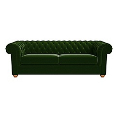 Green Chesterfield Living Room Sofas Chairs Furniture