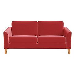 Debenhams - 2 seater Amalfi velvet 'Carnaby' sofa