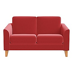 Debenhams - Compact Amalfi velvet 'Carnaby' sofa