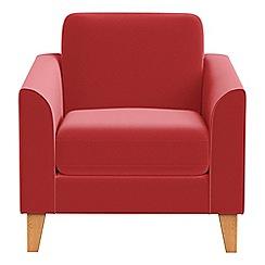 Debenhams - Amalfi velvet 'Carnaby' armchair
