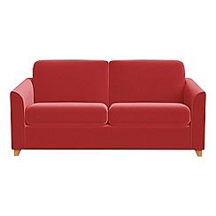 Debenhams - 2 seater Amalfi velvet 'Carnaby' sofa bed