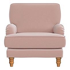 Debenhams - Amalfi velvet 'Eliza' armchair
