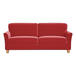 Debenhams - 4 seater Amalfi velvet 'Broadway' sofa