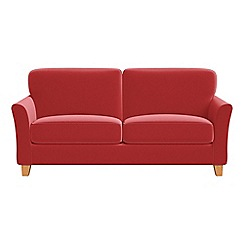 Debenhams - 3 seater Amalfi velvet 'Broadway' sofa