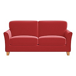 Debenhams - 2 seater Amalfi velvet 'Broadway' sofa
