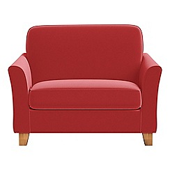 Debenhams - Amalfi velvet 'Broadway' loveseat
