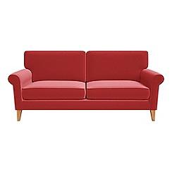 Debenhams - 3 seater Amalfi velvet 'Arlo' sofa