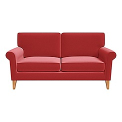 Debenhams - 2 seater Amalfi velvet 'Arlo' sofa