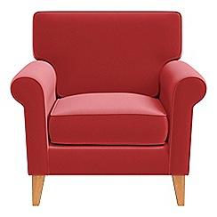 Debenhams - Amalfi velvet 'Arlo' armchair