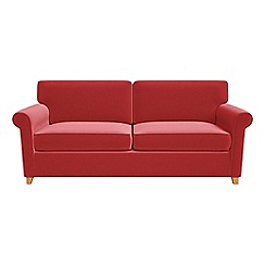 Debenhams - Amalfi velvet 'Arlo' sofa bed