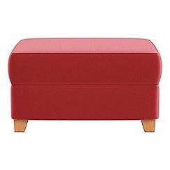 Debenhams - Amalfi velvet storage footstool