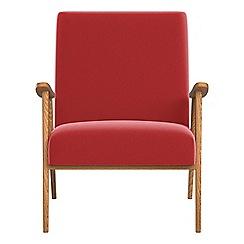 Debenhams - Amalfi velvet 'Kempton' armchair
